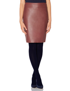 Leather skirt from The Limited