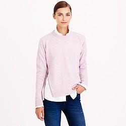 J. Crew pastel pink sweater
