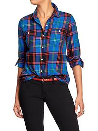 Plaid shirt, Old Navy