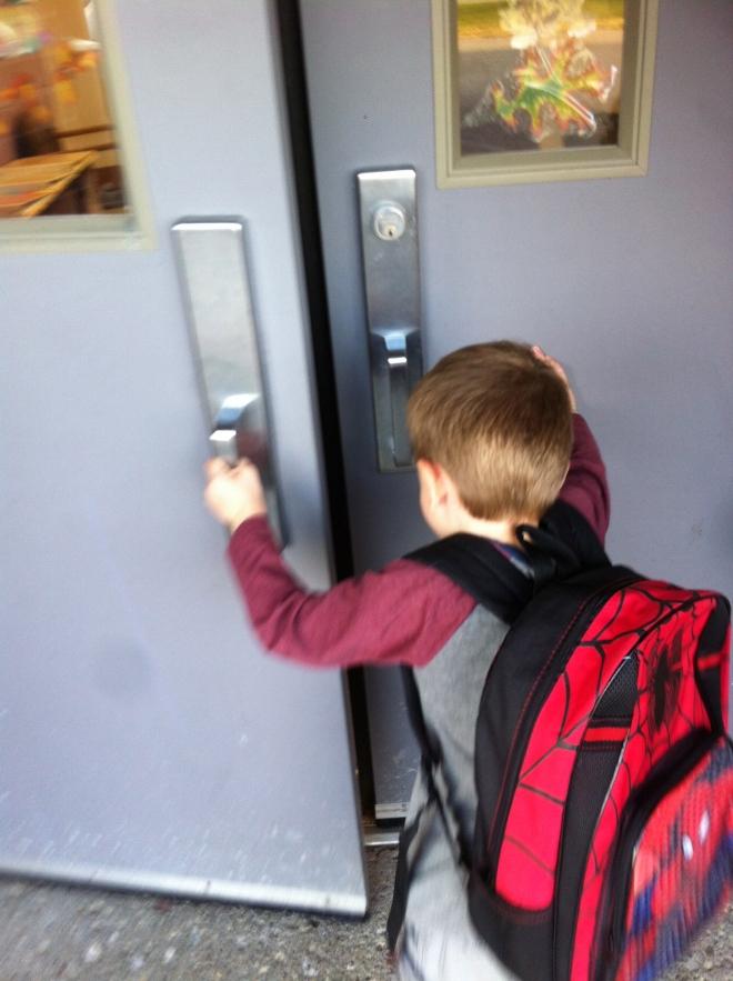 Heading in to preschool