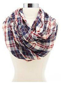 Plaid scarf from Charolette Russe
